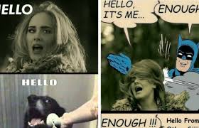 Internet Meme Song - 28 adele hello meme pictures because you really didn t hear that