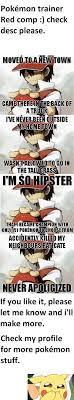 Pokemon Trainer Red Meme - pokemon trainer red