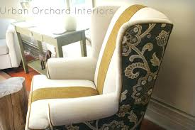 Slipcover For Wingback Chair Design Ideas New Slipcovers For Wingback Chairs 34 Photos 561restaurant