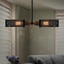 discount pendant lamps iron vintage industrial lights american