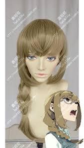 halloween blonde wigs aliexpress com buy kiznaiver maki honoka cosplay wig blonde