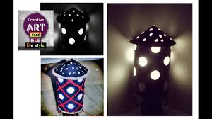 Bed Lamp Diy Easy Bed Lamp Made With Paper Youtube