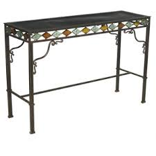 Patio Serving Table Amazing Idea Patio Serving Table Wrought Iron Side Design 390