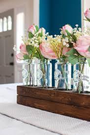 Simple Vase Centerpieces How To Make A Farmhouse Neutral Floral Centerpiece
