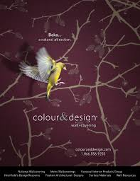 boka commercial wallcovering in interior design magazine c u0026d