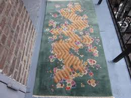 Nichols Chinese Rugs Nichols Chinese Art Deco Oriental Rug Tientsin Ne China