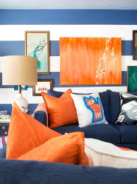 Dark Blue Living Room by Navy And Orange Living Room Best Home Design Ideas