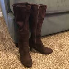target womens boots size 5 heel boots worn once in a condition with 5 inch