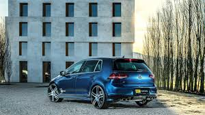 volkswagen golf r tuned for power output of 450 hp drivers magazine