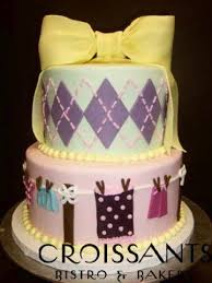 girl baby shower cakes shower cakes croissants myrtle bistro bakery