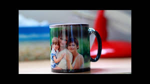 magic photo mug photos appear when you add water youtube