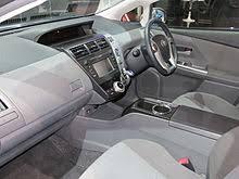 Toyota Prius Interior Dimensions Toyota Prius V Wikipedia