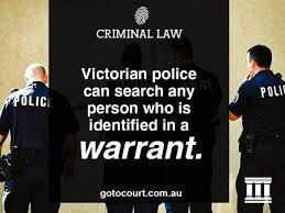 Bench Warrant Western Australia Information About Search Warrants In Victoria Criminal Law