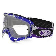 oakley goggles motocross oakley o frame mx motocross goggles skull rush white purple oo7029 22