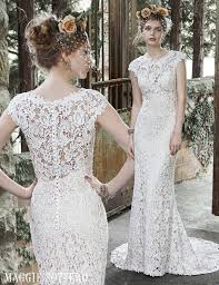 vintage lace wedding dress vintage inspired lace wedding dress by maggie sottero
