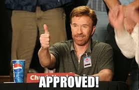 Approved Meme - approved meme chuck norris approves 68683 memeshappen