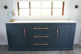 Unique Chalky Finish Sideboard Makeover Project by DecoArt