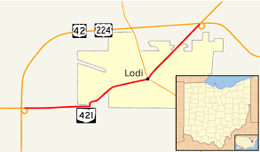Berea Ohio Map by Ohio State Route 421 Wikipedia