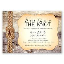 engagement party invites tying the knot engagement party invitation invitations by