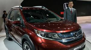 honda 7 seater car honda cars india unveils 7 seater crossover utility br v
