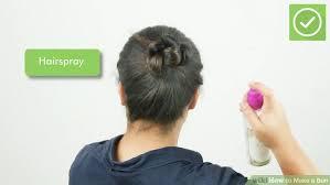 hair bun 6 ways to make a bun wikihow
