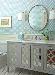 Bathroom Vanities Mirror Extraordinary Mirrored Bathroom Vanity Cabinet Bathroom Best