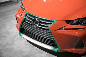 lexus rx300 front grill lexus heats up l a auto show with sriracha is show car motor trend