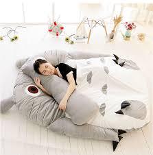 Giant Totoro Bed Huge Comfortable Cute Cartoon Totoro Bed Sleeping Bag Pad 290 160cm