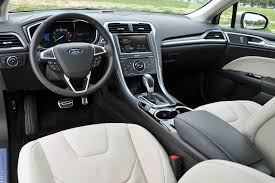 ford fusion 2017 interior 2015 ford fusion review autoweb