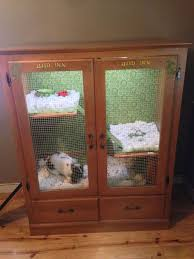 rabbit hutch indoors got to make this pinterest rabbit