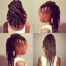 braided mohawk with senglenese twists natural hair kids natural