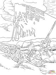 noah building ark coloring page free printable coloring pages