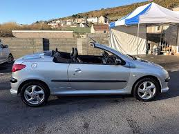 peugeot 206 convertible in llanelli carmarthenshire gumtree