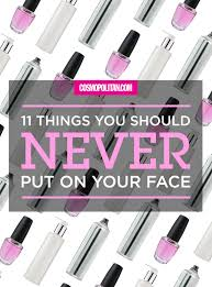 Where Do You Put Your Makeup On by Things To Put On Your Face Before Makeup Mugeek Vidalondon