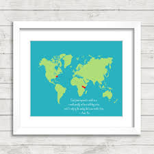 World Map Poster India by 8x10 Best Friends World Map Long Distance Heart Trail
