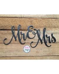mr and mrs sign for wedding deal alert mr mrs metal sign 14 inch mr and mrs decor wedding