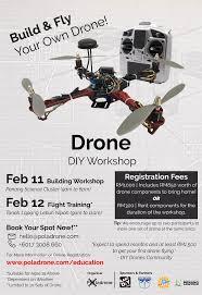 diy drone drone diy workshop u2013 penang science cluster