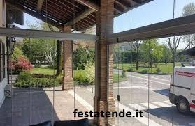 veranda vetro verande in vetro e alluminio per terrazzi balconi bar ristoranti