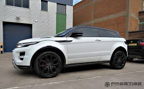 land rover range rover sport matte black range rover evoque with custom finished u0027smokey black u0027 alloy