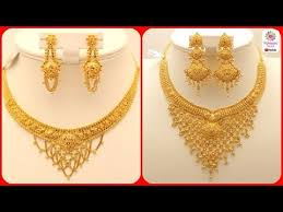 necklace design gold images Latest gold necklace designs gold necklace sets for brides jpg