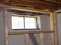 Glass Block For Basement Windows by How To Frame Basement Windows When Roughing In Around Your