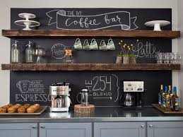 cute kitchen coffee bar ideas entertainment centers for