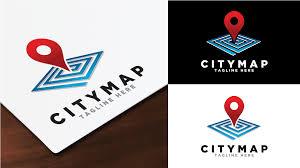 map logo city map logo logos graphics