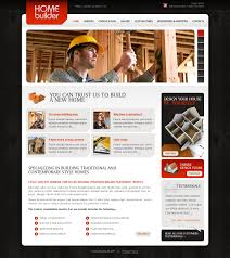 Design Your Home By Yourself Construction Company Website Template 32614
