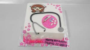 nurse cake tutorial simple youtube