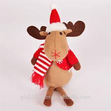 Stuffed Reindeer Christmas Decorations by Christmas Moose Stuffed And Plush Toys Christmas Moose Stuffed