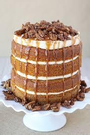 pumpkin salted caramel cake u2013 glorious treats