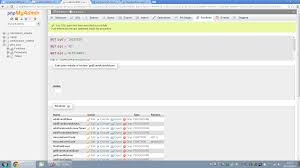 Php Phpmyadmin Running Stored Procedures Works Through Interface