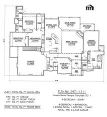 gorgeous architecture kerala four bed room house plan four room