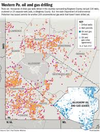 Pennsylvania Map Cities by Many Allegheny County Cities Municipalities Unprepared For Shale